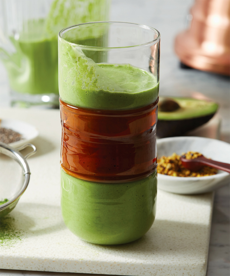 Green pow pow smoothie recipe