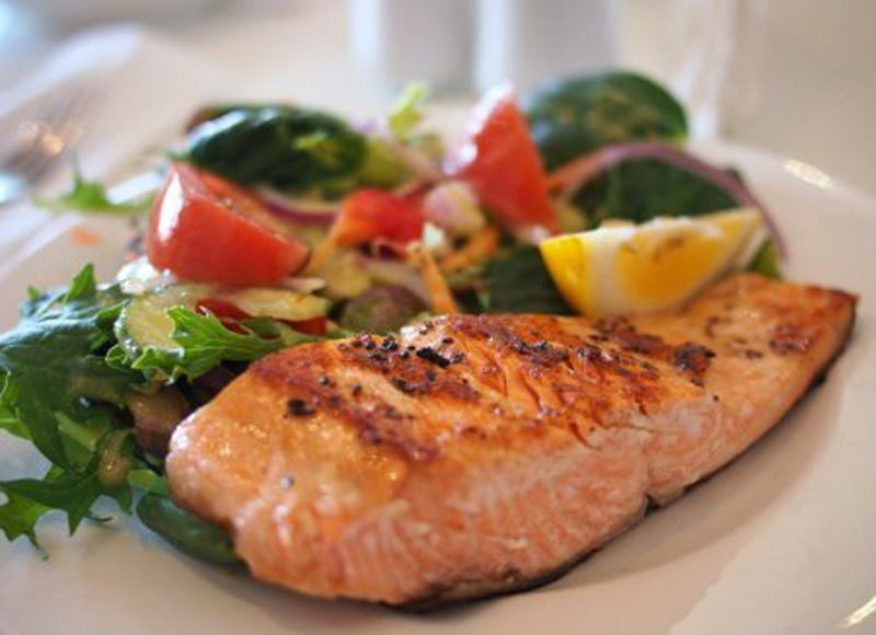 Thai salmon recipe