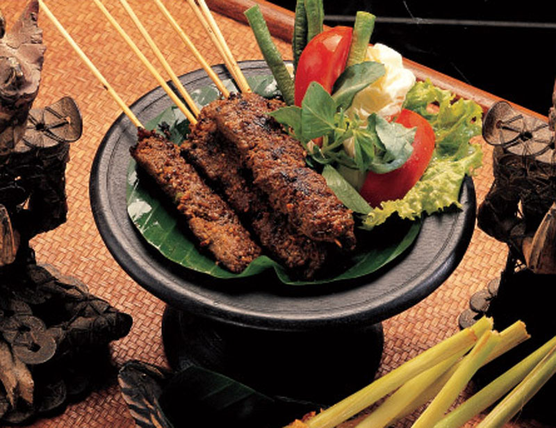 Fragrant beef satay recipe