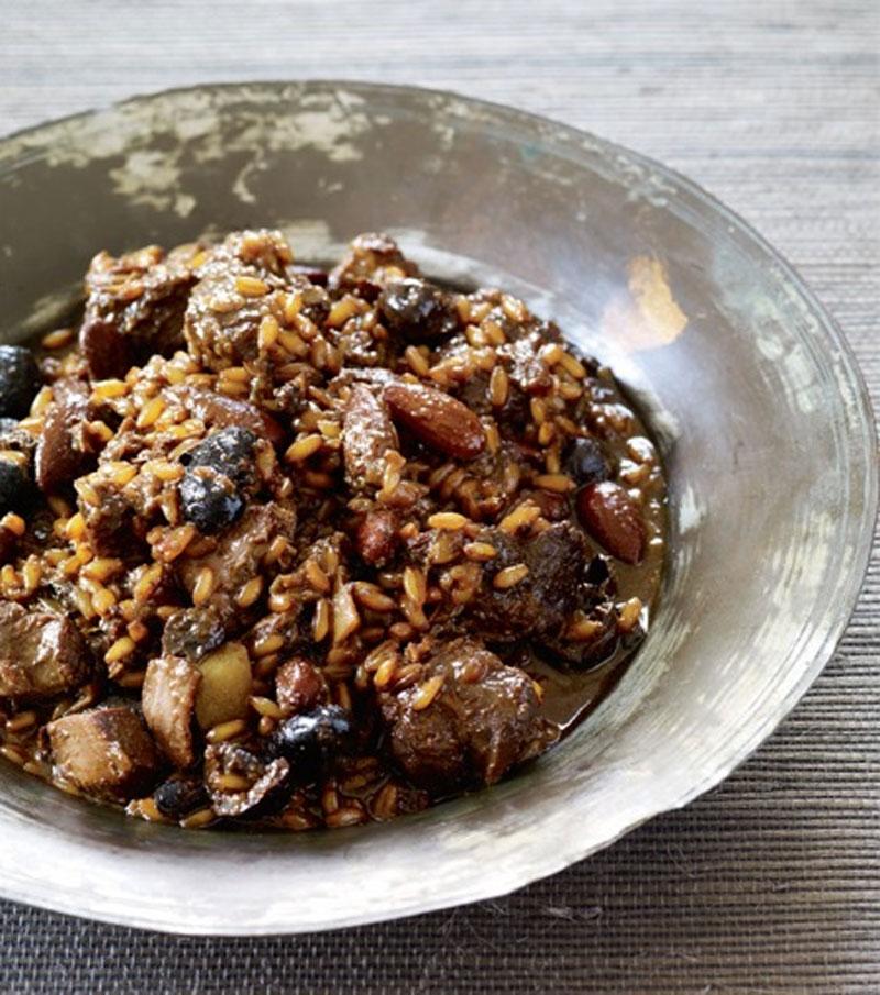 Lamb and triticale tagine recipe